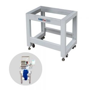 Heavy Duty Ergonomic Rolling Steel Stand for CAMFive HT1501 Embroidery Machine